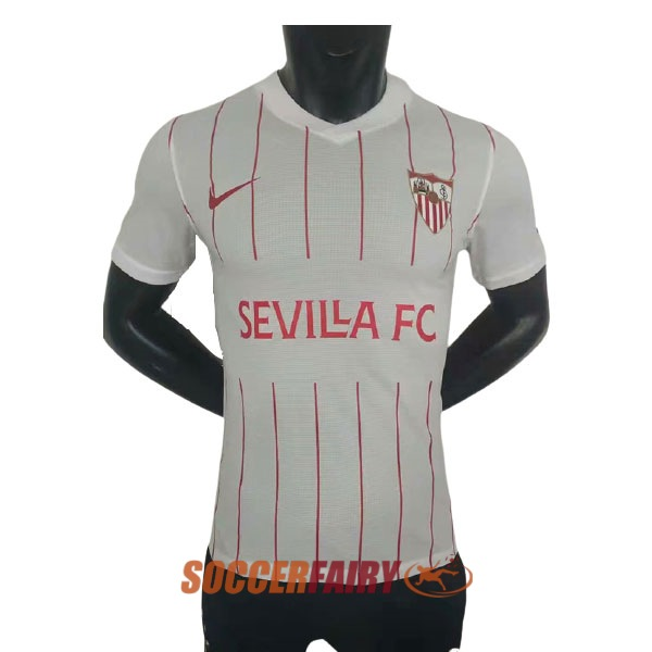 2021 2022 Sevilla Home Player Version Soccer Jersey Shirt For Sale In Uk